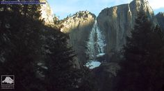 Yosemite Falls. There is a time lapse video that is great to watch.