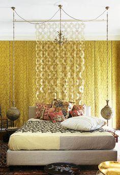 Egyptian Interior Style, Modern Room Decorating Ideas