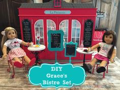 How to Make Grace's Bistro Set