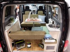 The Family Wagon is part of the ANNEX Sleeper Van Series