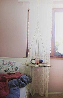 Nábytok - Inakovská stropná polička s ľudovými ornamentmi - 7108085_