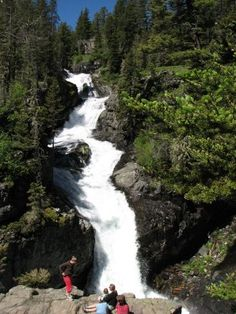 Big Timber Creek Falls...easy for the family