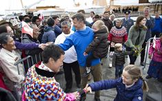 Official visit to Greenland - Day 2 The royal family continues his official visit to Greenland. Program yesterday: visit two new villages Aalluitsup Paa Nanortalik.