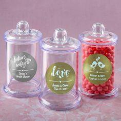 Tag Jar Lid Sentiment Coasters Set of 4