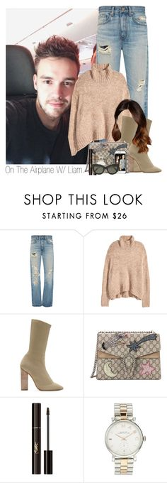 """Untitled #1872"" by idaln ❤ liked on Polyvore featuring Brock Collection, H&M, adidas, Gucci, Yves Saint Laurent, Marc by Marc Jacobs, Victoria Beckham, OneDirection, LiamPayne and onedirectionoutfits"