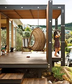 Charlotte Minty Interior Design: New Zealand Holiday Home in Dwell Magazine