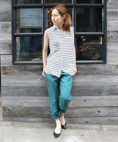 ≪予約≫フレンチリネンイージーパンツ。(パンツ)|FRAMeWORK(フレームワーク)のファッション通販 - ZOZOTOWN