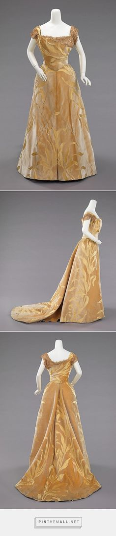 Ball gown by House of Worth 1899 French | The Metropolitan Museum of Art