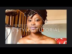 How to style an African head wrap/doekie in 5 styles/Tutorial/VLOG/South African YouTuber🇿🇦 - YouTube African Head Wraps, African Clothes, Youtube, Style, African Outfits, Swag, African Print Dresses, Youtubers, Outfits