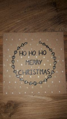 Christmas Crafts, Merry Christmas, Cards, December, Calligraphy, Drawing Drawing, Christmas Presents, Merry Little Christmas, Happy Merry Christmas