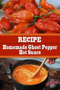 Homemade Ghost Pepper Hot Sauce Recipe