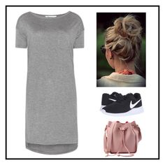 """""""Untitled #543"""" by juliatini-je on Polyvore featuring NIKE and T By Alexander Wang"""
