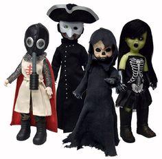 Living Dead Dolls The Four Horsemen Of The Apocalypse - Set of 4