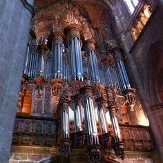 [Moyen Âge] cathédrale ND de l'Assomption, #Rodez XIIIe-XVIe s. Orgue monumental