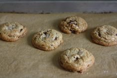 salted brown butter pecan chocolate chip cookies - something I would make for someone else