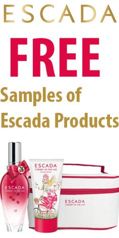 Free Samples of Escada Products