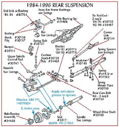 C4 Corvette Suspension Diagram Of The Eye And Its Functions 56 Best Parts Images 1996 Unique Upgrading On A C 4