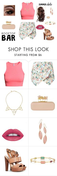"""""""Summer Date: Rooftop Bar"""" by anabelalba95 ❤ liked on Polyvore featuring H&M, Jules Smith, Alexander McQueen, Lana, Steve Madden, Ippolita, Carolina Bucci, summerdate and rooftopbar"""