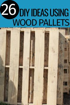 Need ideas on ways to use wood pallets? There are so many creative ways to take a few pallets and turn them into something pretty amazing. Wood Pallets, Cool Designs, Amazing Crafts, Pallet Ideas, Cool Stuff, Creative, Pretty, Deck, Group