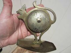 Cloche DE Service OLD German Bell Hugo Berger Chat Goberg Jugenstil ART Nouveau | eBay