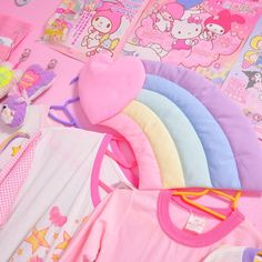 Most Popular Japanese Bedroom Ideas - My Little Think Kawaii Shop, Kawaii Cute, Japanese Bedroom, Pastel Room, Pastel House, Kawaii Bedroom, Hello Kitty My Melody, Cute Room Decor, Pastel Grunge