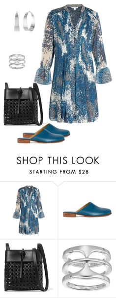 """""""Casual Day"""" by dolenka ❤ liked on Polyvore featuring Diane Von Furstenberg, Martiniano, Kara and Vince Camuto"""