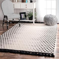 Shop for nuLOOM Handmade Flatweave Wool Reversible Tassel Area Rug. Get free delivery at Overstock - Your Online Home Decor Store! Get in rewards with Club O! Handmade Home Decor, Handmade Rugs, Global Decor, Affordable Rugs, Online Home Decor Stores, Online Shopping, Home Decor Outlet, Colorful Rugs, Furniture Design