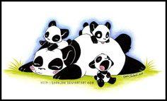 -Mothers Day Panda- by =ZombiDJ on deviantART