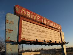 Drive In Theatre by curtisbillue,