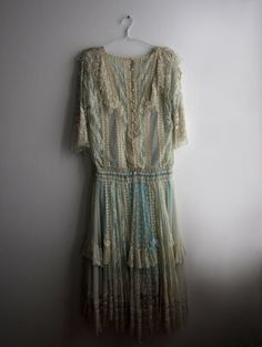 Edwardian Lace Dress, 1910s-Inspired, Circa 1980s