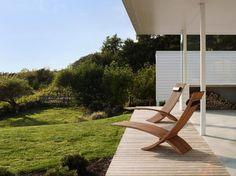 chaises longues de luxe Nozib en teck