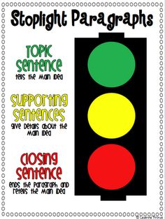 Stoplight paragraphs