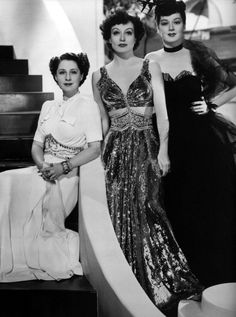 Norma Shearer, Joan Crawford and Rosalind Russell - THE WOMEN