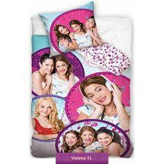 Violetta bedding set with all characters of Disney Channel series | Pościel Violetta 31 #violetta #disney_bedding #teenagers_bedding