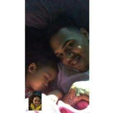 Royalty Brown Chris Brown daughter royalty beautiful little girl baby Brown Nia Amey