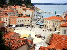 Piran in Slovenia / photo by Ferry Vermeer. Our tips for 25 things to do in Slovenia: http://www.europealacarte.co.uk/blog/2011/10/17/what-to-do-slovenia/