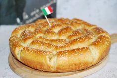 Хлеб с пармезаном и итальянскими травами
