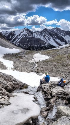 Highwood Pass - Beautiful day on the trails! This was taken on the Ptarmigan Cirque Trail near Highwood Pass on Hwy.40 in Alberta.  #explorealberta