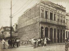 Augusto Malta. Rua do Hospício, atual rua Buenos Aires, centro. c. 1906. Rio de Janeiro. Brasiliana Fotográfica