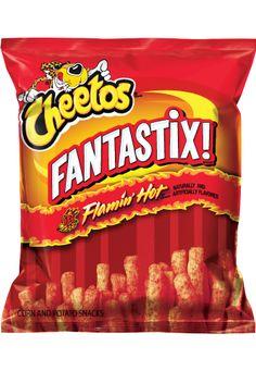 CHEETOS® FANTASTIX!® FLAMIN' HOT® Flavored Baked Corn & Potato Snacks