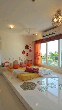 Bedroom Bed Design, Bedroom Furniture Design, Home Room Design, Home Decor Furniture, Home Decor Bedroom, Home Interior Design, Indian Bedroom Decor, Indian Style Bedrooms, Indian Bedroom Design