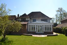 Double height extension & orangery Princes Risborough HP27 Extensions, Prince, Mansions, House Styles, Home Decor, Decoration Home, Room Decor, Villas, Interior Design