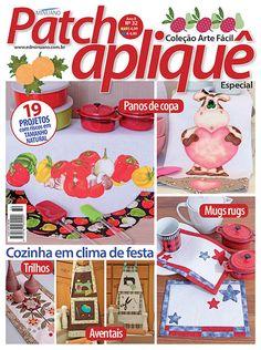 Artesanato - Apliquê - Patchwork : COL ARTE FACIL PATCHAPLIQUE ESPECIAL 032 - Editora Minuano