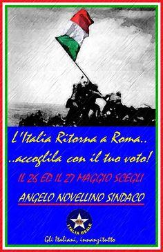 L'Italia ritorna a Roma accoglila col tuo voto | ITALIA REALE - Stella e Corona