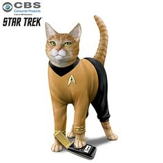 New Arrivals: Collectible Figurines - Hamilton Collection - Page 3 Funny Chihuahua Pictures, Funny Cat Photos, Funny Cats, Star Trek Posters, Sci Fi Tv Series, Star Trek Collectibles, Kitten Meowing, Kittens, Star Trek Movies