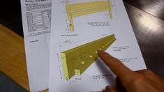Diy Como hacer una cama de dos plazas de madera pino fácil de hacer Bed Dimensions, Drawers, Wooden Beds, Kitchen Cupboards, Small Kitchens, Bed Designs, Bed Ideas