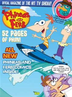Disney Phineas & Ferb Magazine