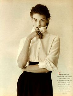 Annie's Fashion Break: Vogue Italia September 1988