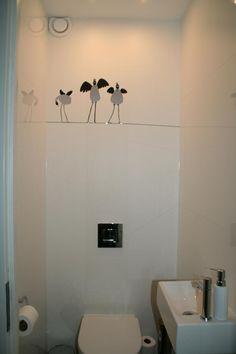 wc creatie birds on a string