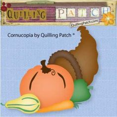 Free Thanksgiving files by Quilling Patch
